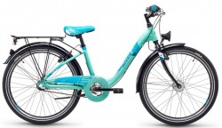 S'Cool chiX steel 24 3-S Kinder City Bike 2018