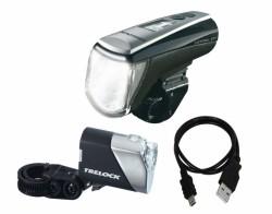Trelock Control Ion LS950/720 LED Batterie Leuchten Set