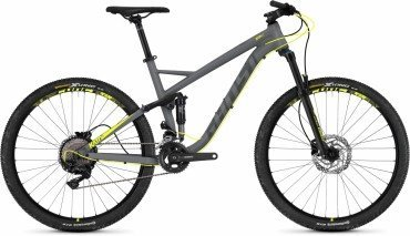 Ghost Kato FS 3.7 AL U 27.5R Fullsuspension Mountain Bike 2018 grau
