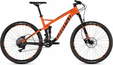 Ghost Kato FS 5.7 AL U 27.5R Fullsuspension Mountain Bike 2018 orange