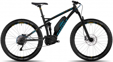 Ghost Hybride Lanao FS 4 AL Womens Elektro Fahrrad/27.5R+ All Mountain eBike 2017