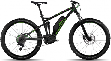 Ghost Hybride Lanao FS 6 AL Womens Elektro Fahrrad/27.5R+ All Mountain eBike 2017