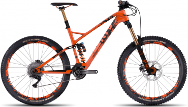 Ghost PathRIOT 10 UC 27.5R Enduro Mountain Bike 2017 Monarch orange / Night black | M/44cm