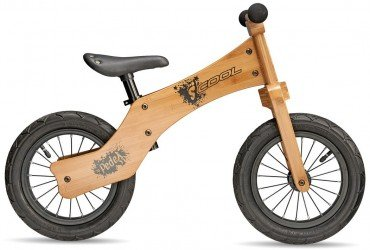 S´COOL pedeX wood one 12R Kinder Laufrad 2017