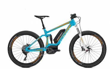 Univega Renegade BS 3.0 Plus Elektro Fahrrad/27.5R Fullsuspension Mountain eBike 2017