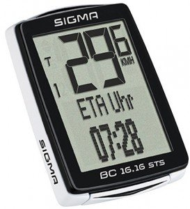 Sigma Sport Topline BC 16.16 STS Fahrrad Bike Computer