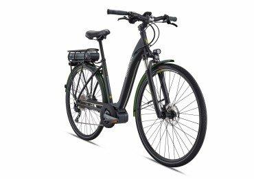 Breezer Greenway + LS Elektro Fahrrad 2018 Satin Black | 48cm