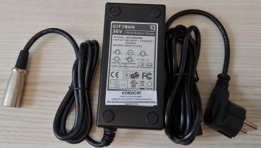 CH05 36V E-Bike Batterie Akku Ladegerät für TranzX
