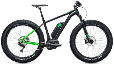 Cube Nutrail Hybrid 500Wh 26R Elektro Fahrrad/Fatbike Mountain eBike 2017