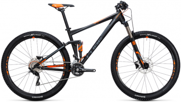 Cube Stereo 120 HPA Pro 27.5R Fullsuspension Mountain Bike 2017