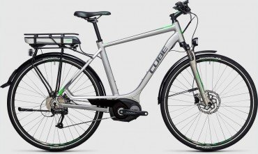 Cube Touring Hybrid ONE 500Wh Elektro Fahrrad/Comfort Trekking eBike 2017