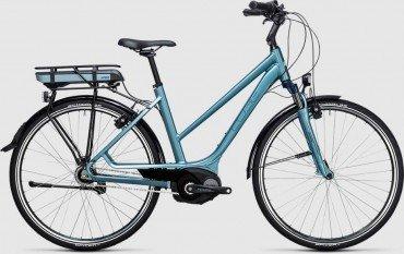 Cube Travel Hybrid ONE 400Wh Elektro Fahrrad/Comfort Trekking eBike 2017