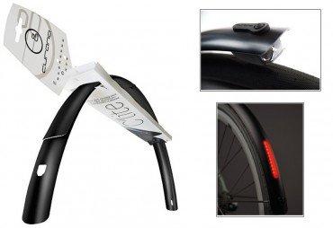Curana C-Lite 28 Zoll Fahrrad Schutzblechset mit B&M Ilu Beleuchtung