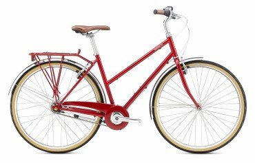 Breezer Downtown 8 ST Womens City Bike 2017