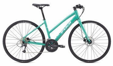 Fuji Absolute 1.5 ST Disc Womens Fitness Bike 2017