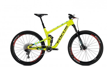 Focus Jam C Lite 27 Fullsuspension Mountain Bike 2018