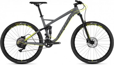 Ghost Kato FS 3.7 AL U 27.5R Fullsuspension Mountain Bike 2018 grau