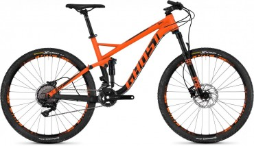 Ghost Kato FS 5.7 AL U 27.5R Fullsuspension Mountain Bike 2018 orange
