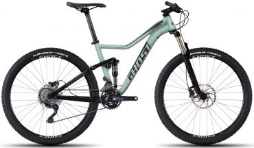 Ghost Lanao FS 4 27.5R Womens Fullsuspension Mountain Bike 2016 M | Mint/Schwarz