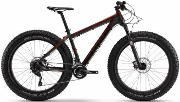 Haibike Fatcurve 6.30 26R Fatbike/Mountain Bike 2016