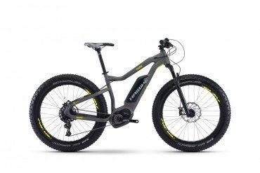 Haibike XDURO FatSix 6.0 500Wh 26R Elektro Fahrrad/Fatbike Mountain eBike 2017