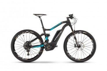 Haibike XDURO FullSeven Carbon 8.0 500Wh Elektro Fahrrad/27.5R Fullsuspension Mountain eBike 2017
