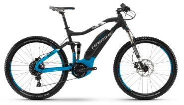 Haibike SDURO FullSeven 5.0 Elektro Fahrrad 2018 Schwarz/Blau/Weiß matt | M/44cm