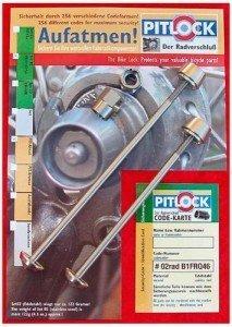 Pitlock 03 Sicherungsset