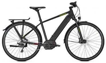 "Raleigh Kent 10 Bosch Elektro Fahrrad 2018 diamondblack matt | 28"" Herren Diamant 53cm"