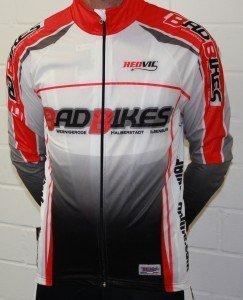 Redvil Windjacke, Wind Jacket, BadBikes Teambekleidung