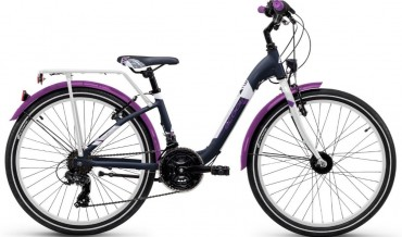 S'Cool chiX alloy 24R 21-S Kinder City Bike