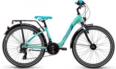 S'Cool chiX steel 24 21-S Kinder City Bike