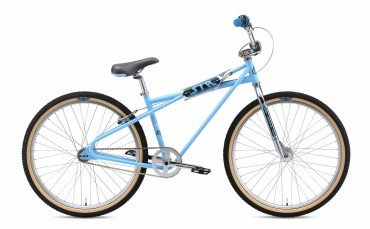 SE Bikes STR-26 QUADANGLE 26'' BMX Bike 2018 SE Blue | 38cm
