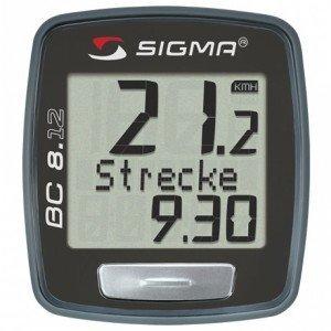 Sigma Sport Topline BC 8.12 Fahrrad Bike Computer
