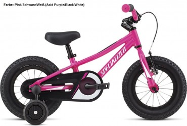 Specialized Riprock 12 Coaster Kinder Fahrrad 2019 Pink/Schwarz/Weiß | 17cm