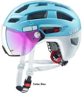 Uvex finale visor Mountain Bike Fahrrad Helm