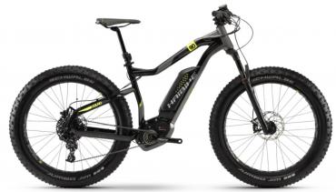 Haibike XDURO FatSix 9.0 Elektro Fahrrad 2018 Schwarz/Titan/Gelb | L/50cm