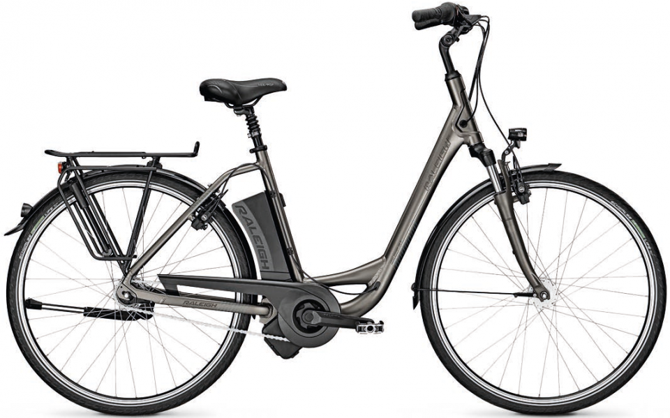 Raleigh Dover Impulse 7 HS 14.5Ah Elektro Fahrrad/City eBike 2017