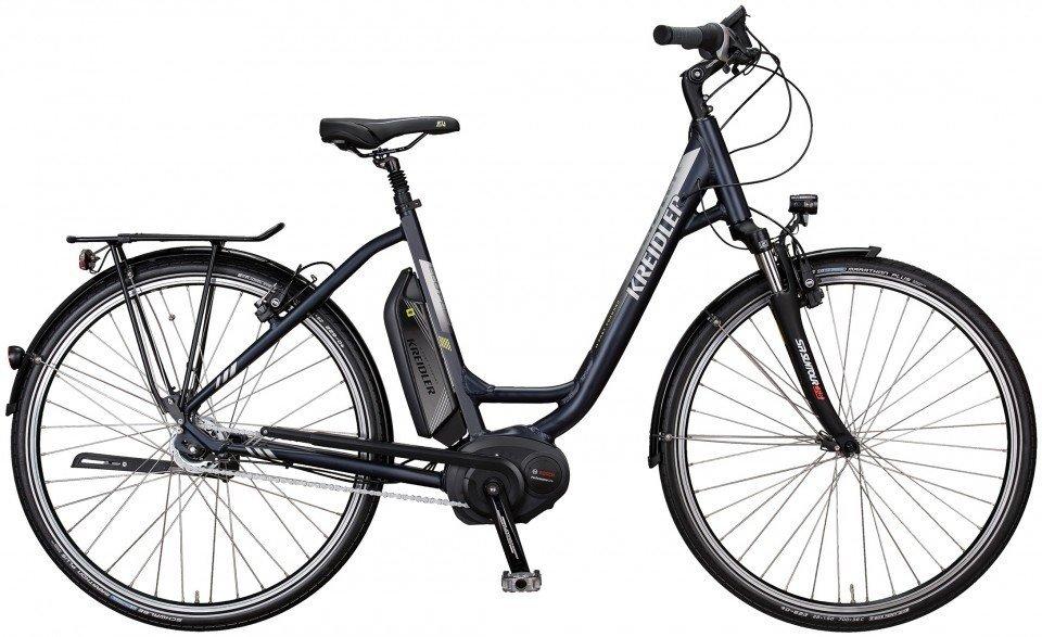 Kreidler Vitality Eco Plus 8-G Nexus FL Elektro Fahrrad/City eBike 2017