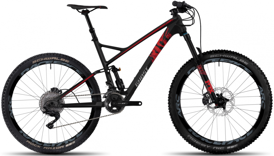 Ghost RIOT 8 UC 27.5R All Mountain Bike 2017