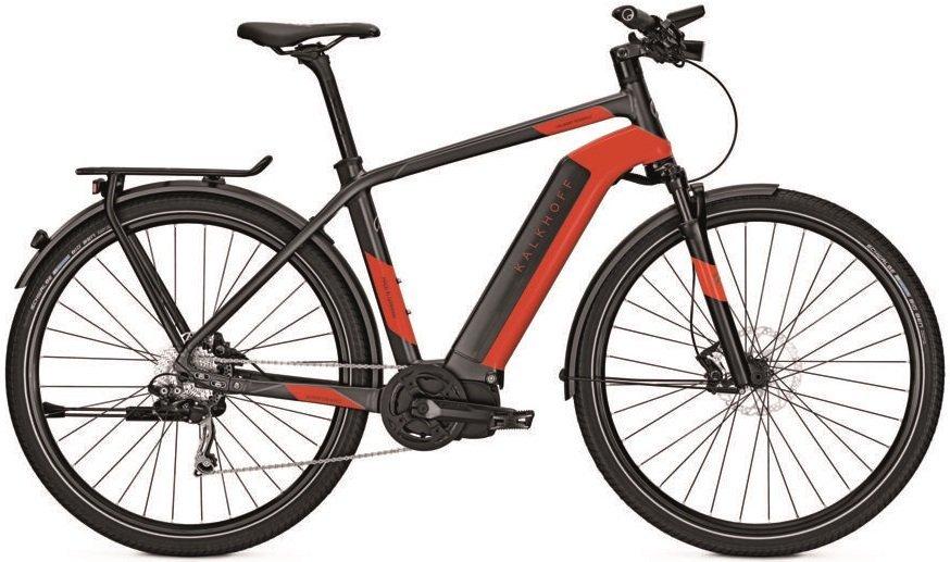 Kalkhoff Integrale i10 Elektro Fahrrad/Trekking eBike 2017