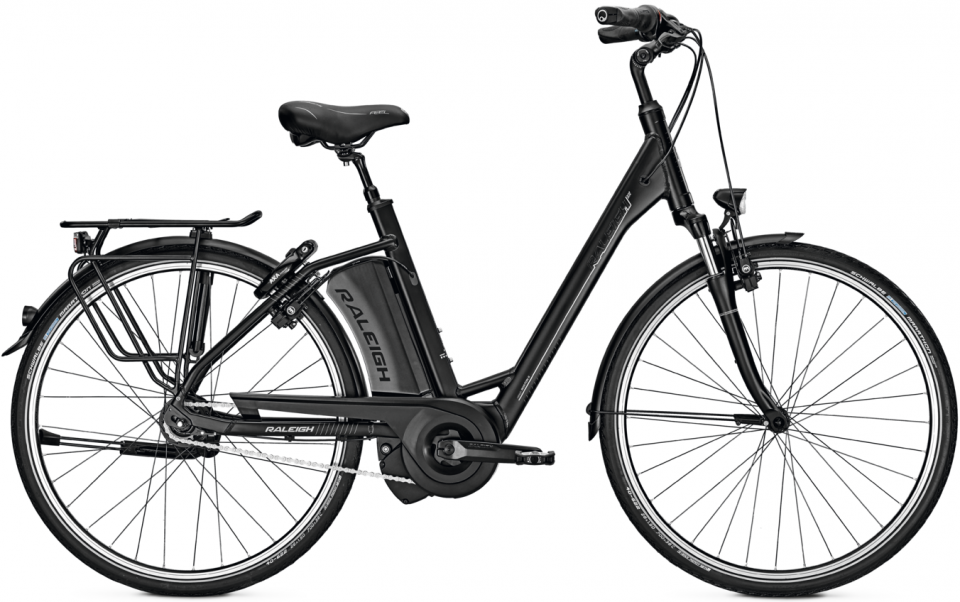 Raleigh Boston 8R 13Ah Elektro Fahrrad/City eBike 2017
