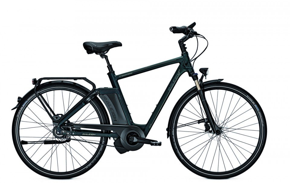 Raleigh Newgate Premium Elektro Fahrrad/City eBike 2017