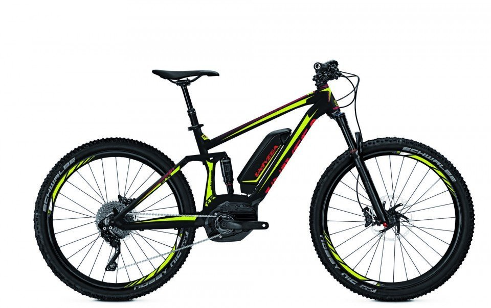 Univega Renegade BS 4.0 Elektro Fahrrad/27.5R Fullsuspension Mountain eBike 2017