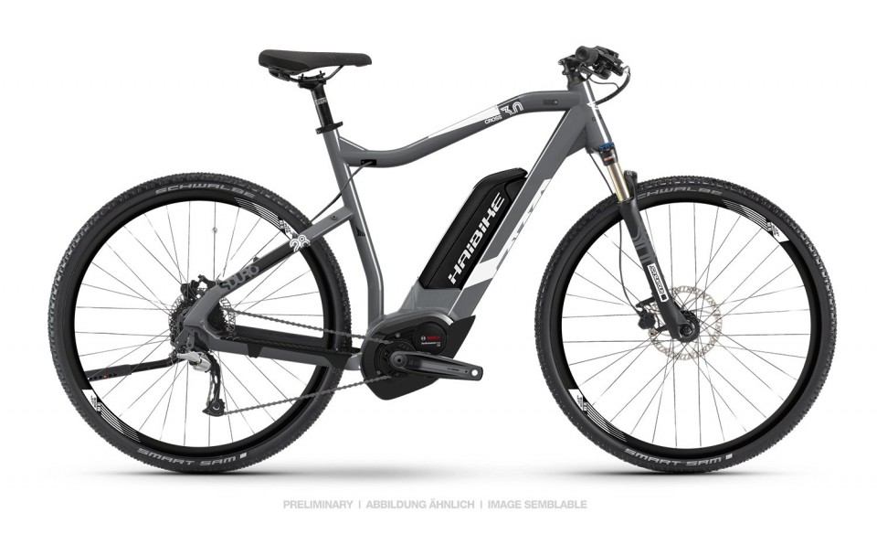 Haibike SDURO Cross 3.0 Bosch Elektro Fahrrad 2019