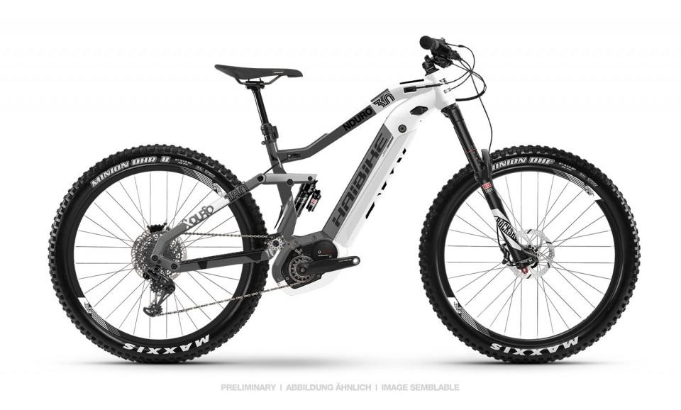 Haibike XDURO Nduro 3.0 Bosch Elektro Fahrrad 2019