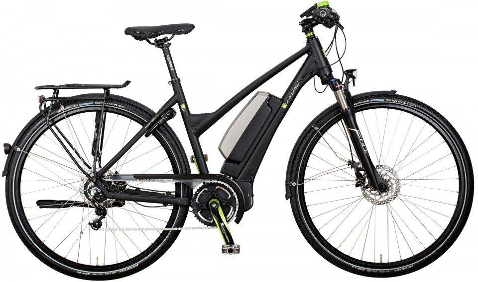 e-bike manufaktur 11LF Alfine Elektro Fahrrad/Trekking eBike 2017