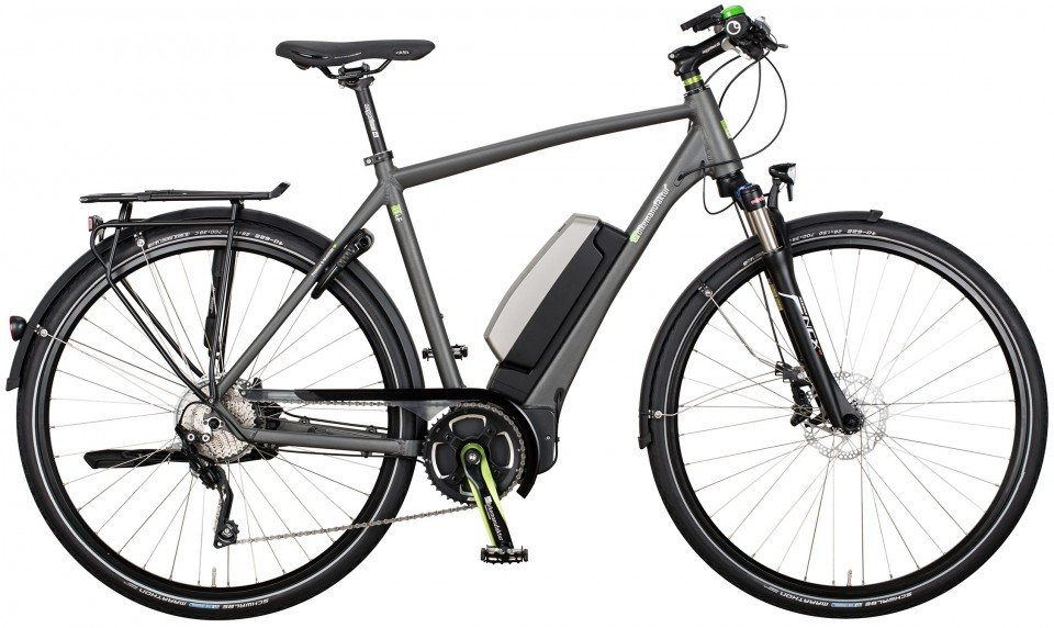 e-bike manufaktur 11LF XT Elektro Fahrrad/Trekking eBike 2017
