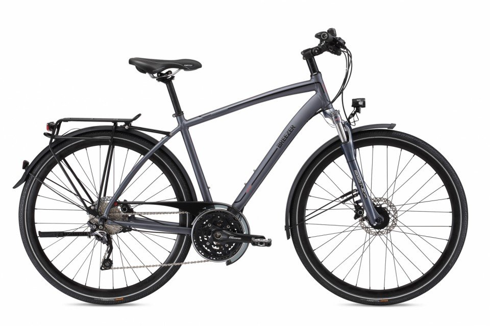Breezer Liberty 2S+ Trekking Bike 2017