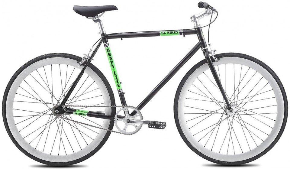 SE Bikes Draft Lite BLACK Urban/Singlespeed Bike 2016